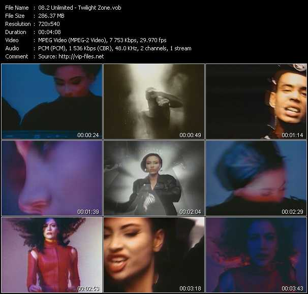 2 Unlimited video - Twilight Zone