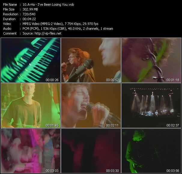 A-Ha music video Novafile
