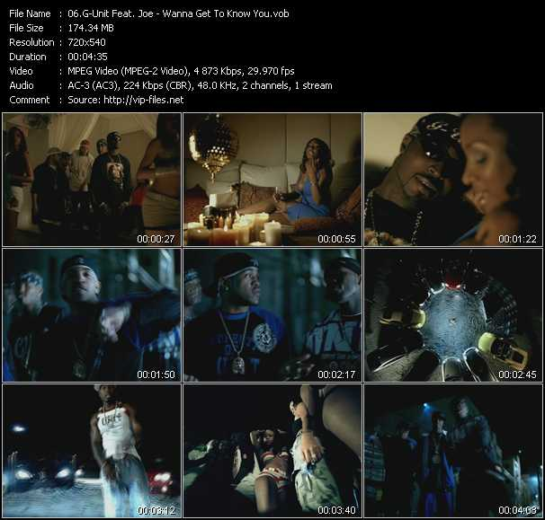 G-Unit Feat. Joe music video Publish2