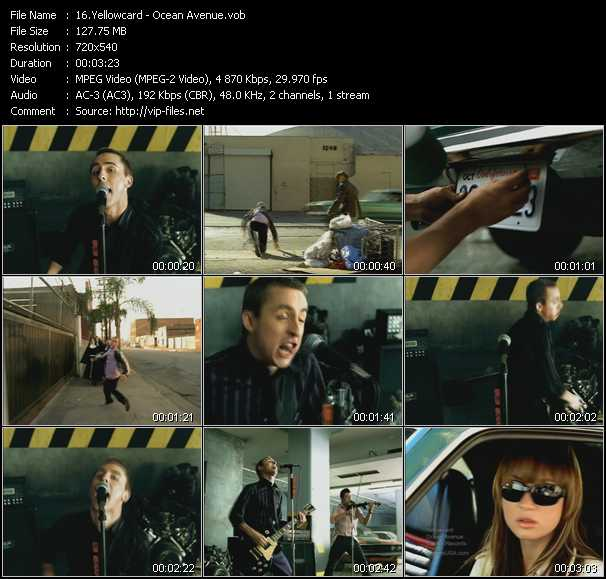 Yellowcard music video Publish2