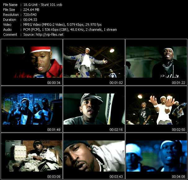 G-Unit video - Stunt 101