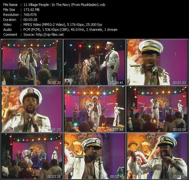 V. P. video - In The Navy (From Musikladen)