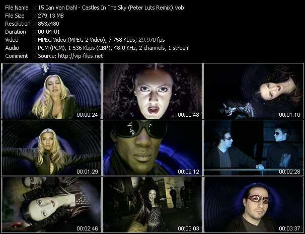 Ian Van Dahl video - Castles In The Sky (Peter Luts Remix)