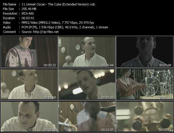 Ummet Ozcan video - The Cube (Extended Version)