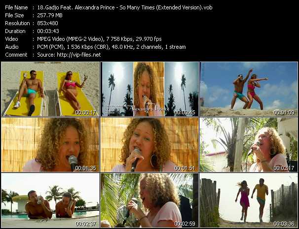 Gadjo Feat. Alexandra Prince music video Publish2