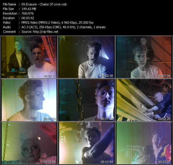 Erasure video - Chains Of Love