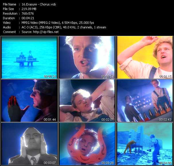 Erasure video - Chorus