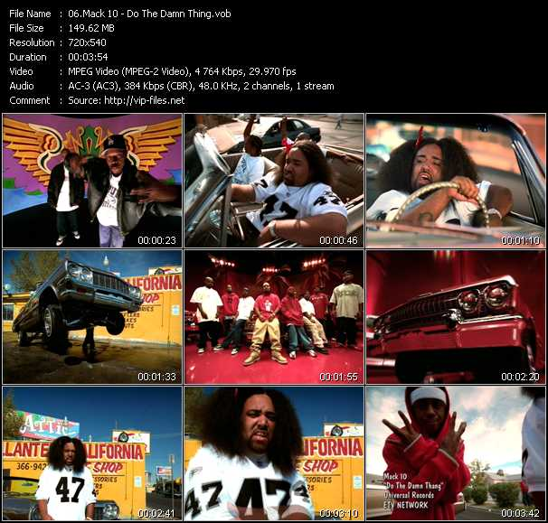 Mack 10 music video Publish2