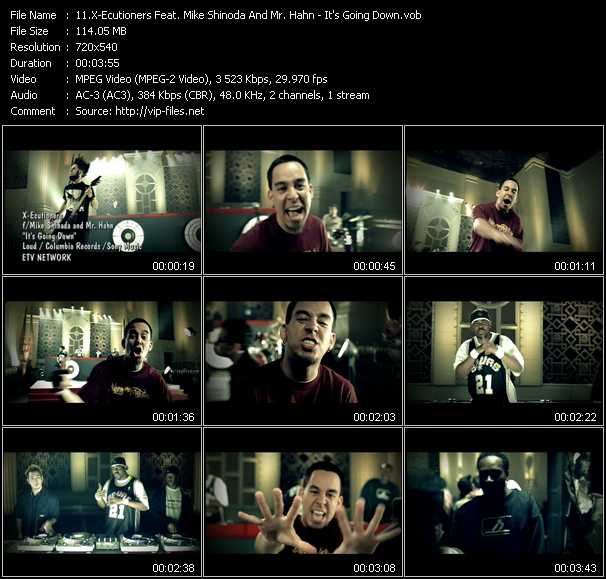 X-Ecutioners Feat. Mike Shinoda And Mr. Hahn music video Publish2