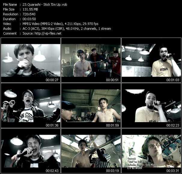 Quarashi music video Publish2