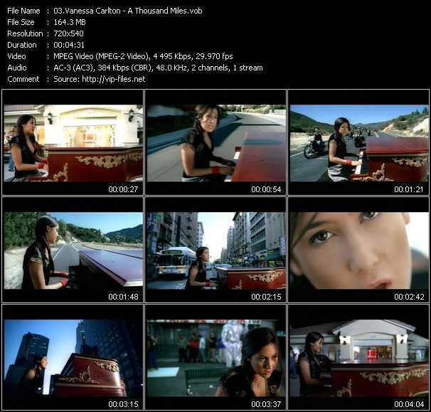 Vanessa Carlton video - A Thousand Miles