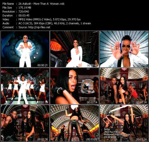 Aaliyah video - More Than A Woman