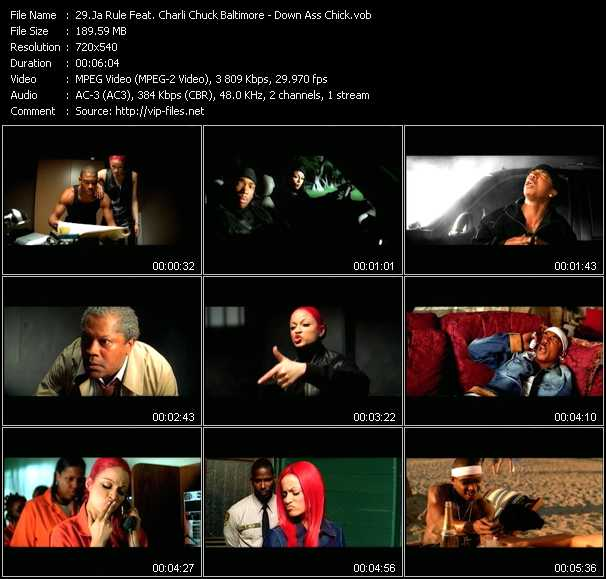 Ja Rule Feat. Charli Chuck Baltimore video - Down Ass Chick