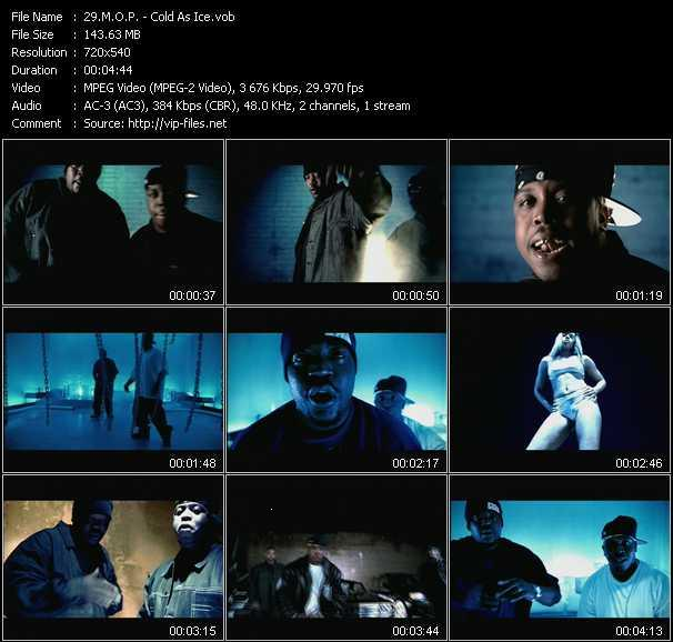 M.O.P. video - Cold As Ice