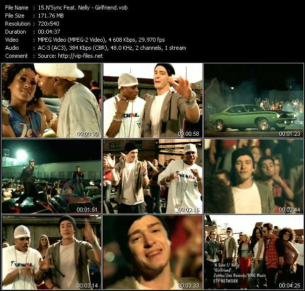 N'Sync Feat. Nelly music video Publish2