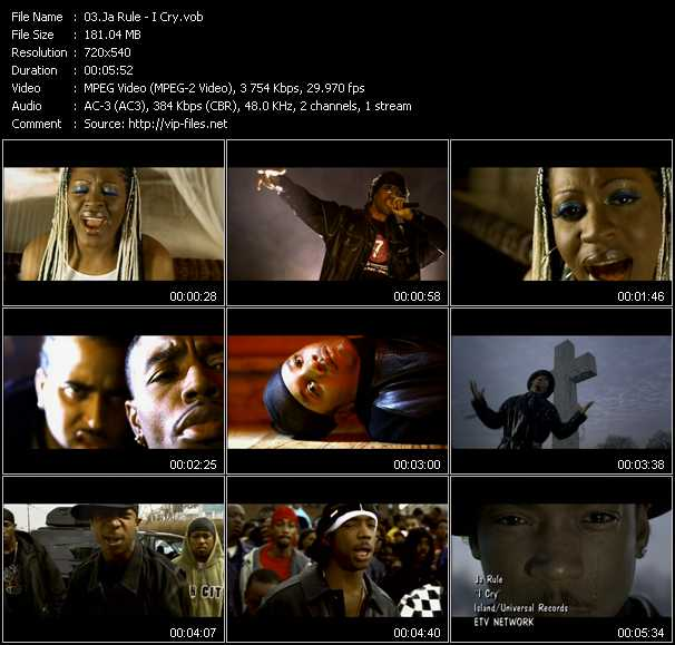 Ja Rule video - I Cry