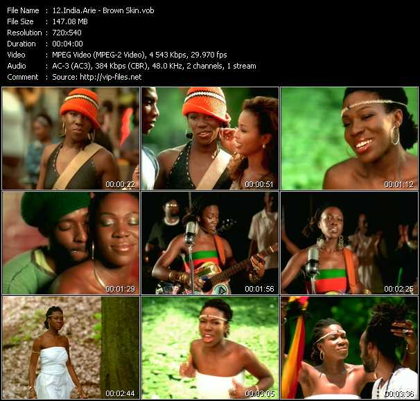 India.Arie video - Brown Skin