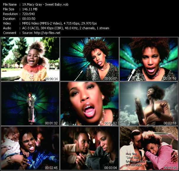 Macy Gray video - Sweet Baby