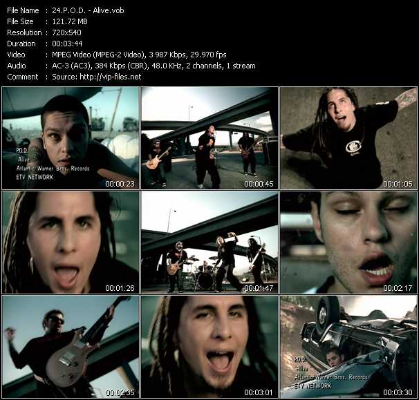 P.O.D. music video Publish2
