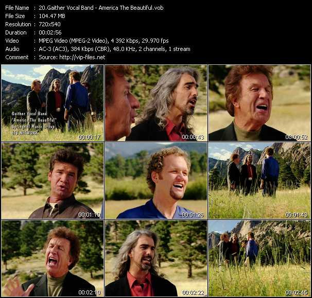 Gaither Vocal Band video - America The Beautiful