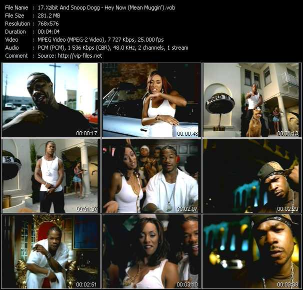 Xzibit And Snoop Dogg video - Hey Now (Mean Muggin')