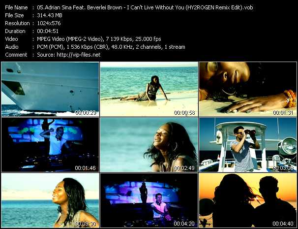 Adrian Sina Feat. Beverlei Brown music video Fboom