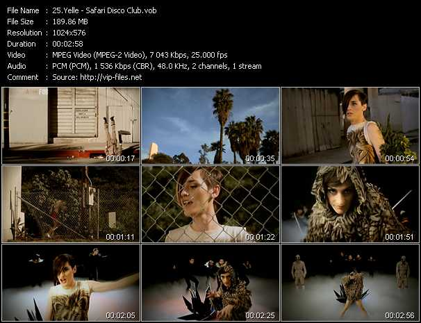 Yelle music video Publish2