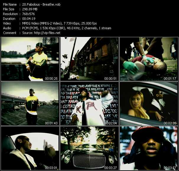 Fabolous video - Breathe