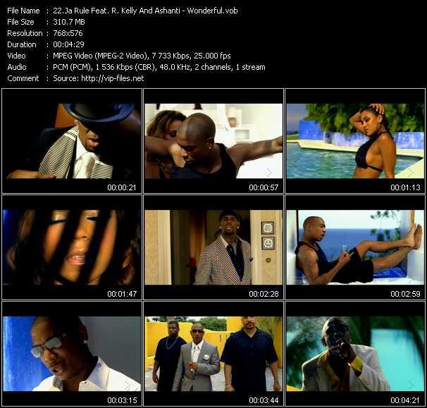Ja Rule Feat. R. Kelly And Ashanti video - Wonderful