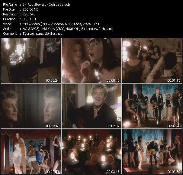 Rod Stewart video - Ooh La La