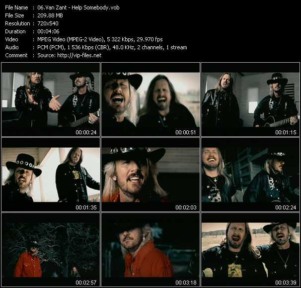 Van Zant music video Publish2