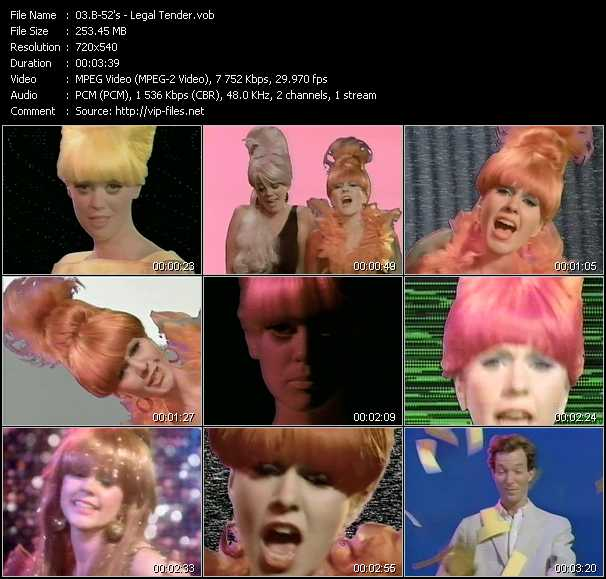 B-52's video - Legal Tender