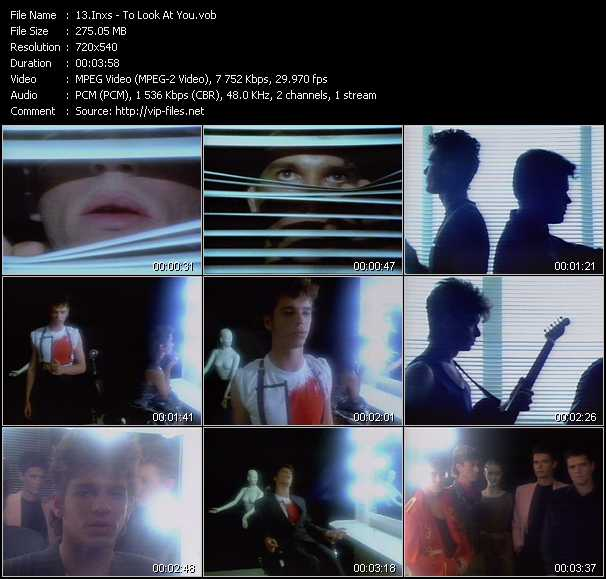 Inxs video - To Look At You