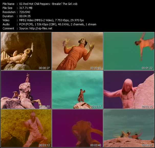 Red Hot Chili Peppers video - Breakin' The Girl