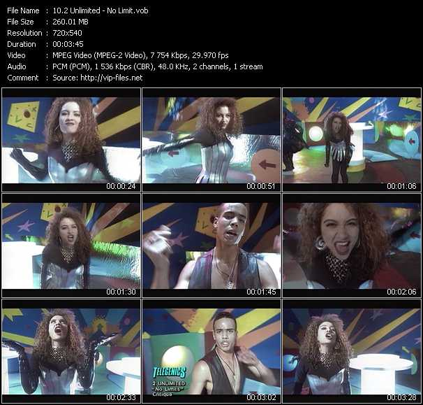 2 Unlimited video - No Limit