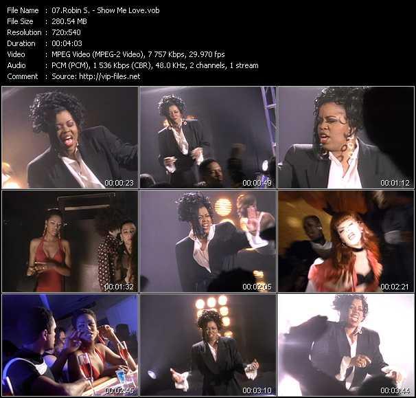 Robin S. video - Show Me Love