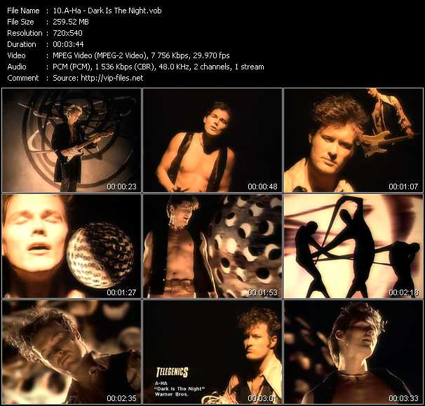 A-Ha music video Novafile