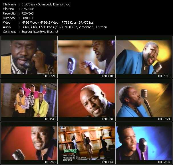 O'Jays video - Somebody Else Will
