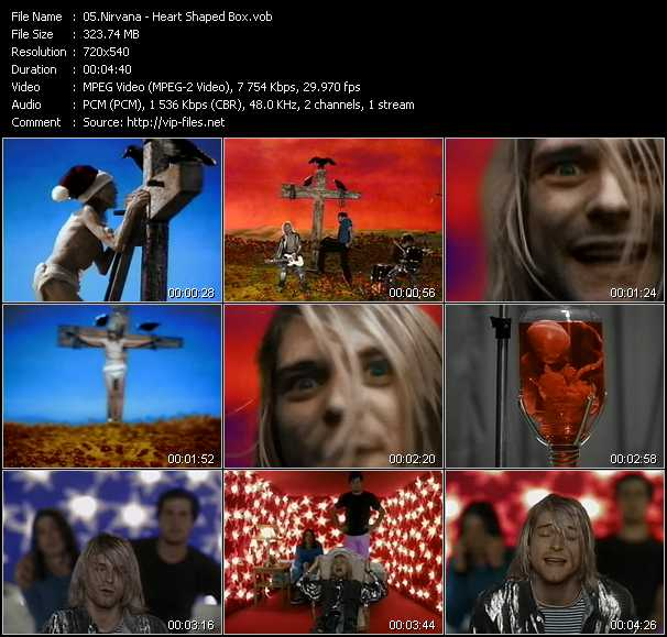 Nirvana video - Heart Shaped Box