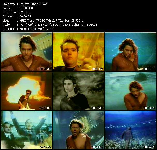 Inxs video - The Gift