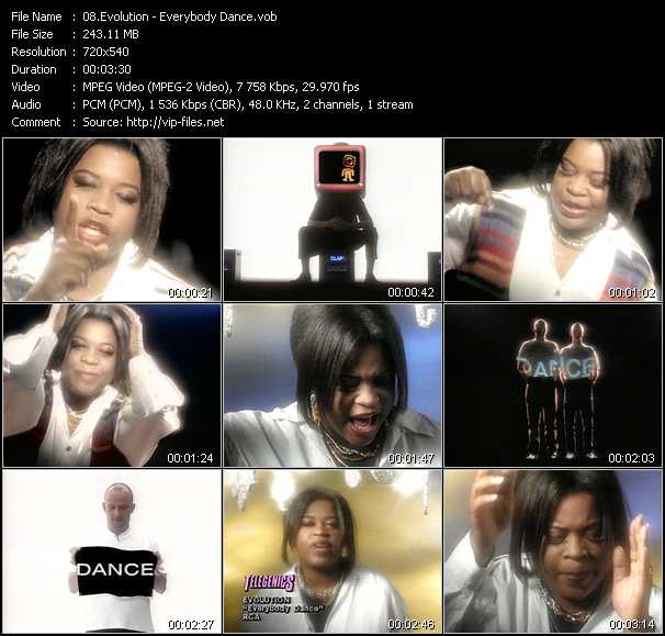Evolution video - Everybody Dance