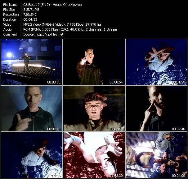East 17 (E-17) music video Publish2