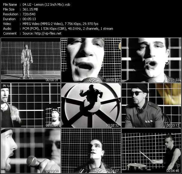 U2 music video Publish2