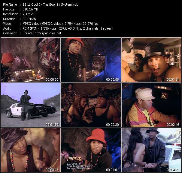 LL Cool J video - The Boomin' System