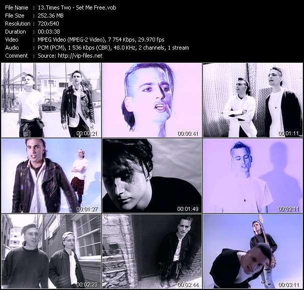 Times Two video - Set Me Free