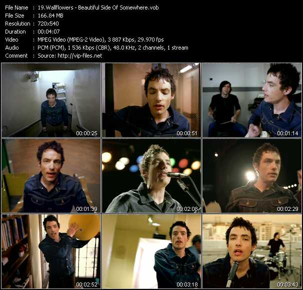 Wallflowers video - Beautiful Side Of Somewhere