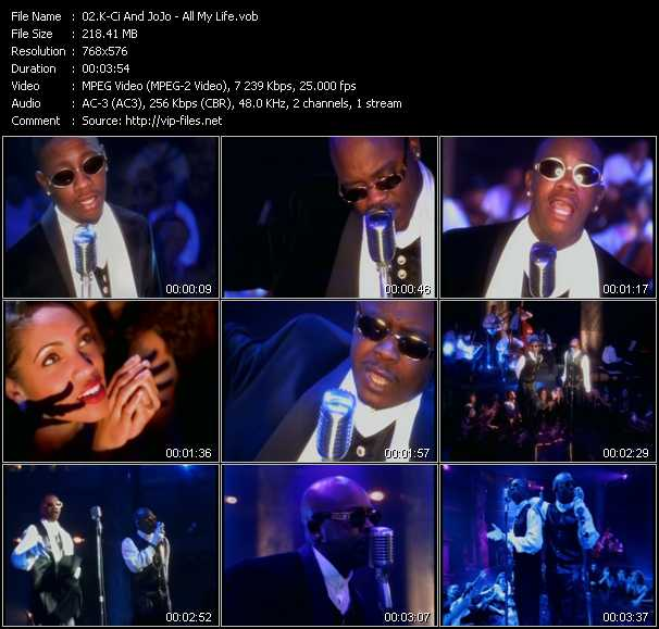 K-Ci And JoJo video - All My Life