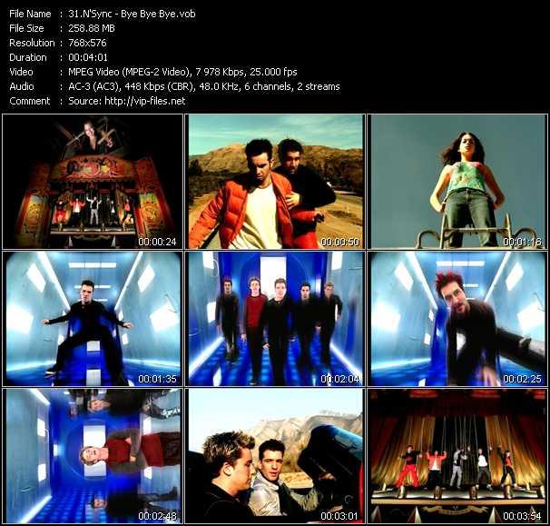 N'Sync music video Publish2