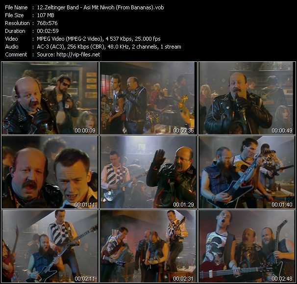 Zeltinger Band music video Publish2