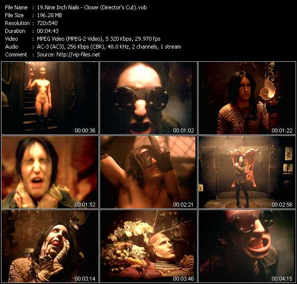 Nine Inch Nails video - Closer (Director's Cut)